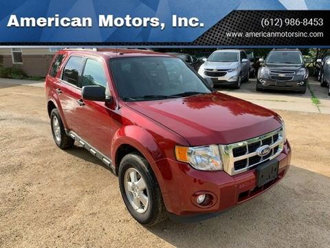 2011 Ford Escape for sale at American Motors, Inc. in Farmington MN