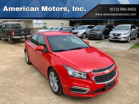 2015 Chevrolet Cruze for sale in Farmington, MN