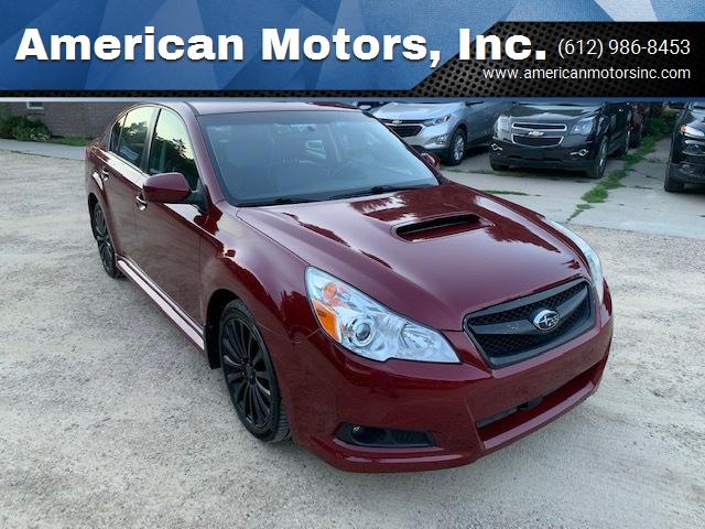 2010 Subaru Legacy for sale at American Motors, Inc. in Farmington MN