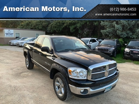 2007 Dodge Ram Pickup 1500 for sale at American Motors, Inc. in Farmington MN