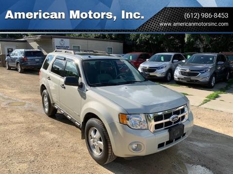 2008 Ford Escape for sale at American Motors, Inc. in Farmington MN
