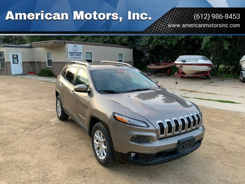 2016 Jeep Cherokee for sale at American Motors, Inc. in Farmington MN