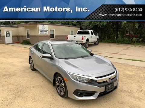 2016 Honda Civic for sale at American Motors, Inc. in Farmington MN