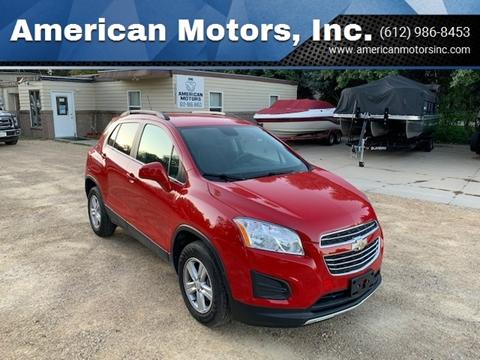 2016 Chevrolet Trax for sale at American Motors, Inc. in Farmington MN