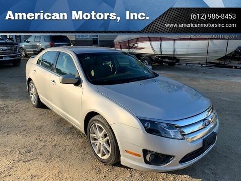 2010 Ford Fusion for sale at American Motors, Inc. in Farmington MN