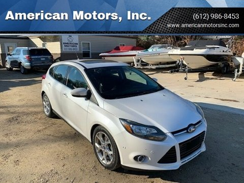 2013 Ford Focus for sale at American Motors, Inc. in Farmington MN