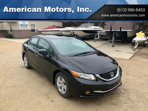 2015 Honda Civic for sale in Farmington, MN