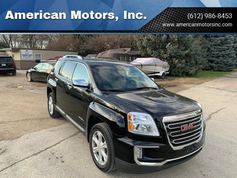2016 GMC Terrain for sale at American Motors, Inc. in Farmington MN