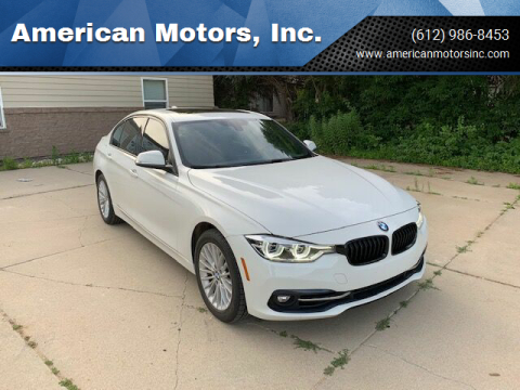 2016 BMW 3 Series for sale at American Motors, Inc. in Farmington MN