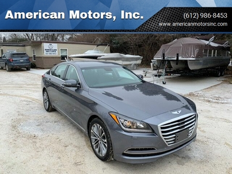 2015 Hyundai Genesis for sale at American Motors, Inc. in Farmington MN