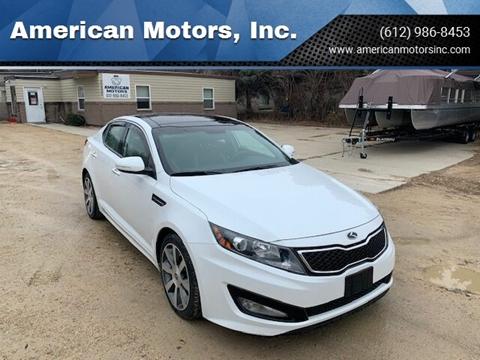 2012 Kia Optima for sale at American Motors, Inc. in Farmington MN