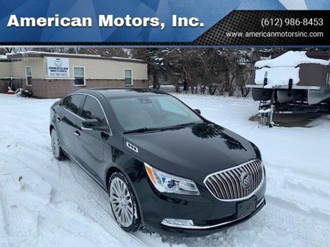2016 Buick LaCrosse for sale at American Motors, Inc. in Farmington MN