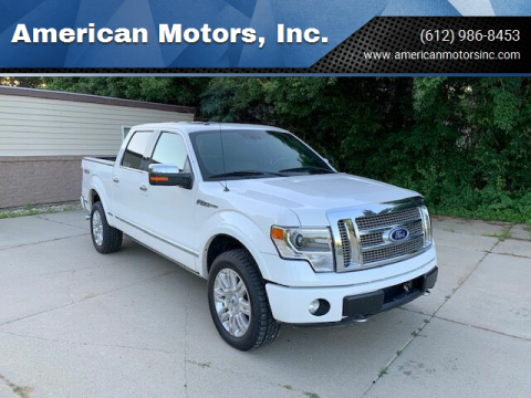 2013 Ford F-150 for sale at American Motors, Inc. in Farmington MN