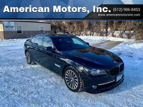 2009 BMW 7 Series for sale at American Motors, Inc. in Farmington MN