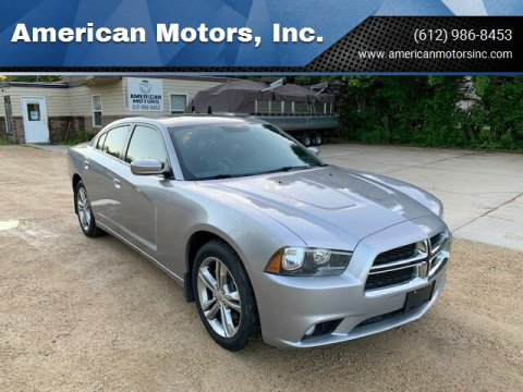 2013 Dodge Charger for sale at American Motors, Inc. in Farmington MN
