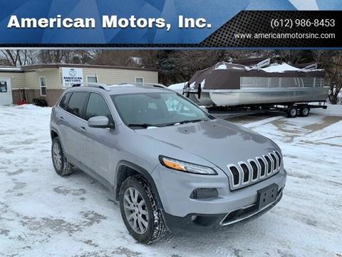 2017 Jeep Cherokee for sale at American Motors, Inc. in Farmington MN