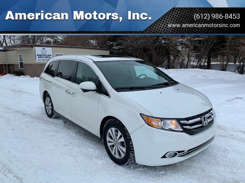 2015 Honda Odyssey for sale at American Motors, Inc. in Farmington MN