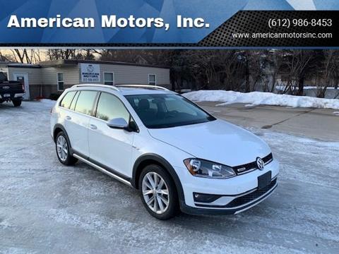 2017 Volkswagen Golf Alltrack for sale at American Motors, Inc. in Farmington MN