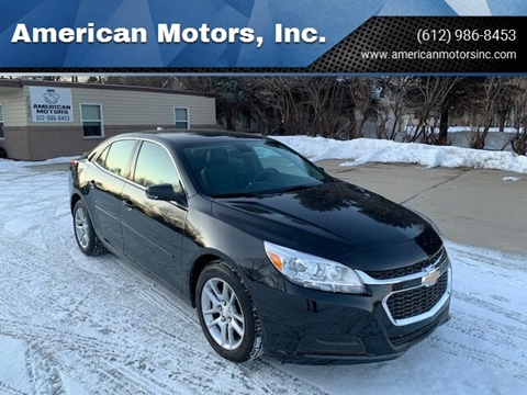 2015 Chevrolet Malibu for sale at American Motors, Inc. in Farmington MN