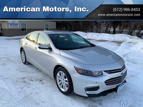 2017 Chevrolet Malibu for sale at American Motors, Inc. in Farmington MN