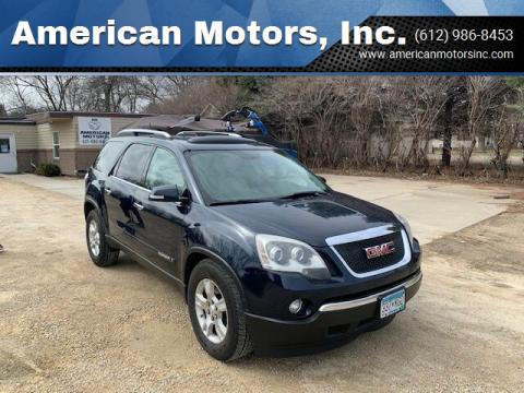 2007 GMC Acadia for sale at American Motors, Inc. in Farmington MN
