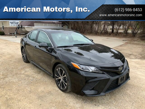 2018 Toyota Camry for sale at American Motors, Inc. in Farmington MN
