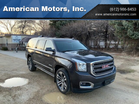 2017 GMC Yukon XL for sale at American Motors, Inc. in Farmington MN