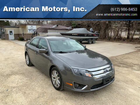 2012 Ford Fusion for sale at American Motors, Inc. in Farmington MN