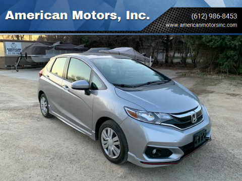 2018 Honda Fit for sale at American Motors, Inc. in Farmington MN