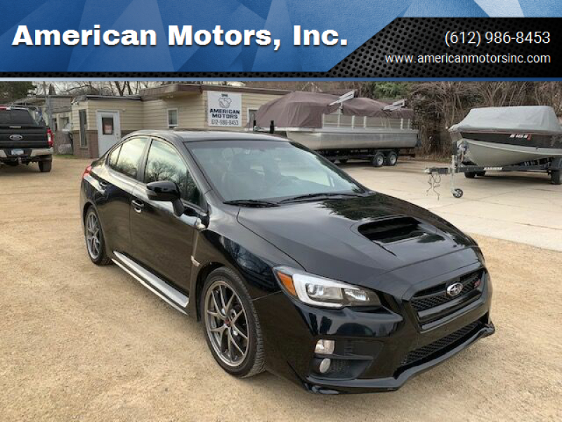 2015 Subaru WRX for sale at American Motors, Inc. in Farmington MN