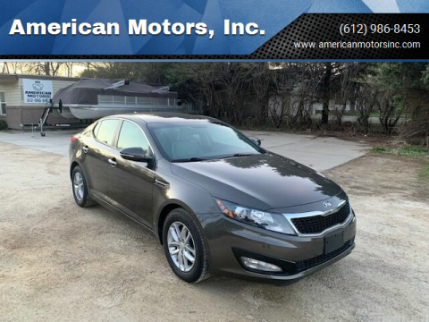2013 Kia Optima for sale at American Motors, Inc. in Farmington MN