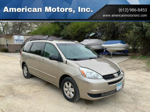 2004 Toyota Sienna for sale at American Motors, Inc. in Farmington MN