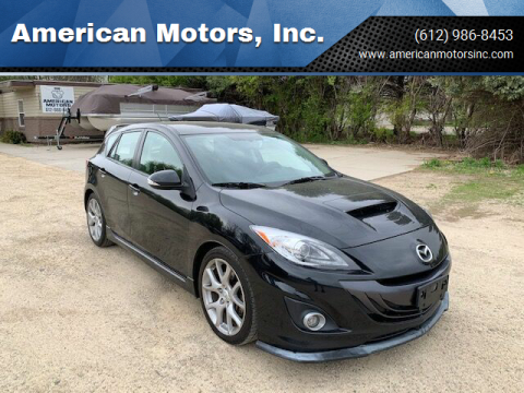 2012 Mazda MAZDASPEED3 for sale at American Motors, Inc. in Farmington MN
