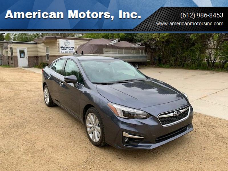 2017 Subaru Impreza for sale at American Motors, Inc. in Farmington MN