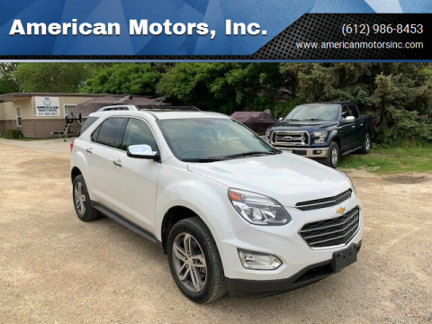 2017 Chevrolet Equinox for sale at American Motors, Inc. in Farmington MN