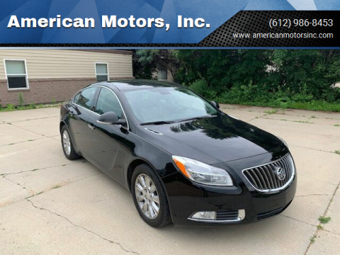 2013 Buick Regal for sale at American Motors, Inc. in Farmington MN