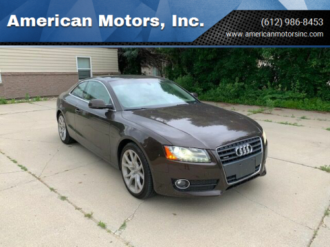 2012 Audi A5 for sale at American Motors, Inc. in Farmington MN