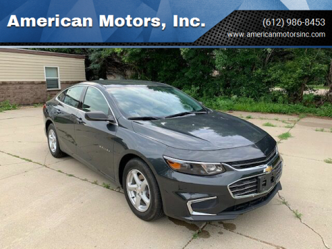 2018 Chevrolet Malibu for sale at American Motors, Inc. in Farmington MN