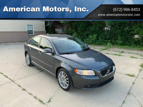 2010 Volvo S40 for sale at American Motors, Inc. in Farmington MN