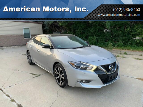 2018 Nissan Maxima for sale at American Motors, Inc. in Farmington MN