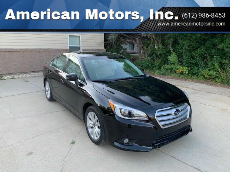 2017 Subaru Legacy for sale at American Motors, Inc. in Farmington MN
