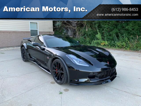 2019 Chevrolet Corvette for sale at American Motors, Inc. in Farmington MN