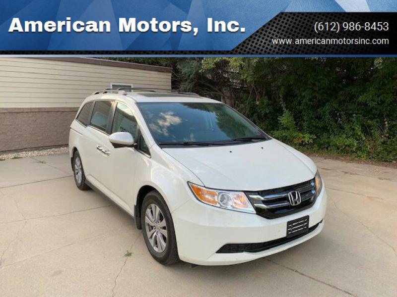 2016 Honda Odyssey for sale at American Motors, Inc. in Farmington MN