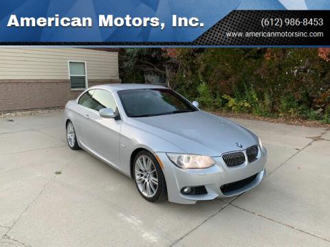 2013 BMW 3 Series for sale at American Motors, Inc. in Farmington MN