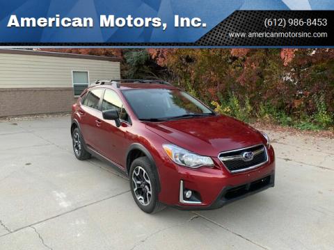 2016 Subaru Crosstrek for sale at American Motors, Inc. in Farmington MN