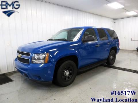 2013 Chevrolet Tahoe for sale in Caledonia, MI