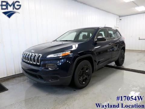 2015 Jeep Cherokee for sale in Caledonia, MI