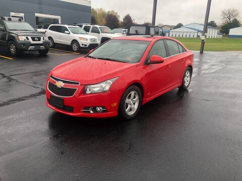 2012 Chevrolet Cruze for sale at Eagle Auto LLC in Green Bay WI