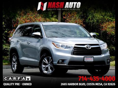 Used Toyota Highlander For Sale Carsforsale Com