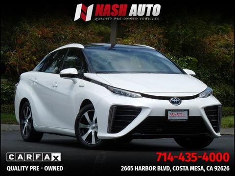 2016 Toyota Mirai for sale in Costa Mesa, CA